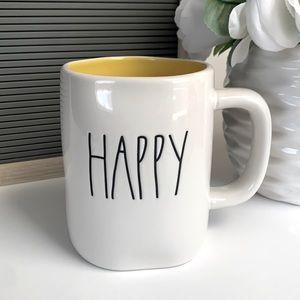 Rae Dunn HAPPY Mug